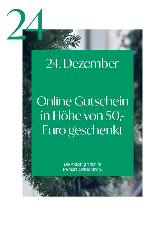 Palmers Onlineshop – 50 € Gutschein geschenkt zu ALLEN Bestellungen!