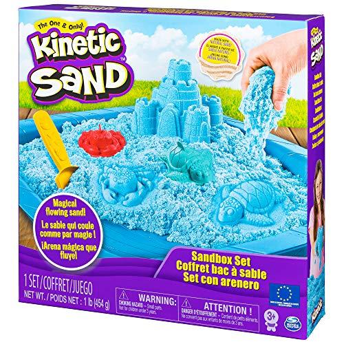 Kinetic Sand – Playset, Schloss (spanische Version)