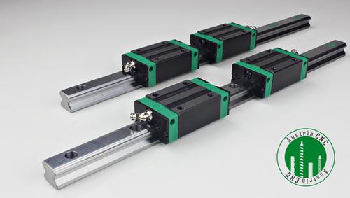 -15% bei AustriaCNC auf Sets mit Profilführungen und Lagern 300 - 2200 mm