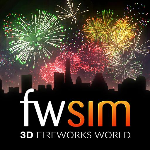 """""""FWsim"""" (Windows PC) Gratiszugang bis 3.1.21 Digitales Feuerwerk zu Silvester - Dein eigenes Feuerwerk in 3D!"""