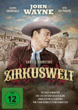 """""""Zirkuswelt - Held der Arena"""" mit John Wayne und Rita Hayworth gratis als Stream oder zum Herunterladen von Arte.tv"""