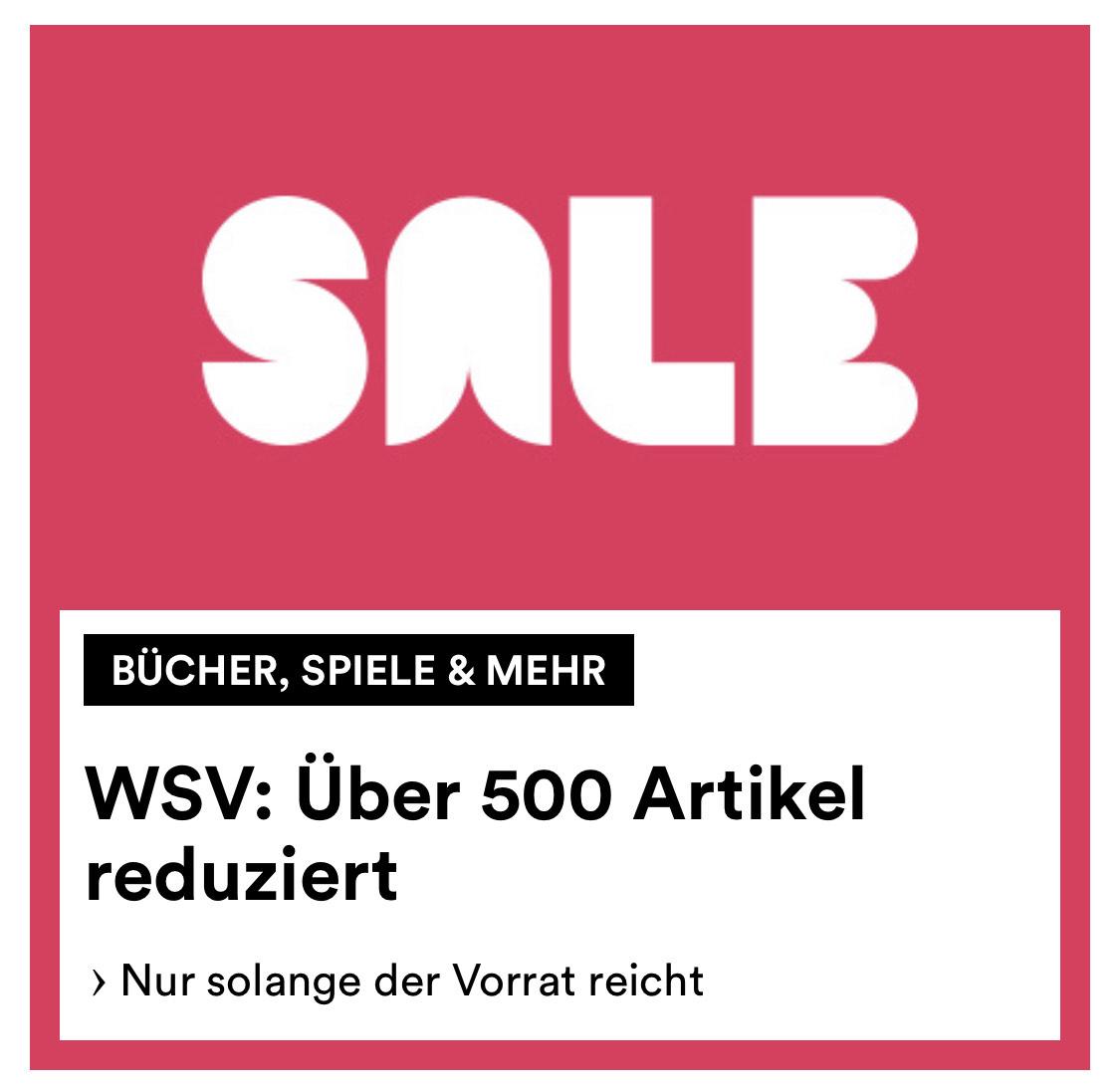 WSV Verkauf bei Thalia