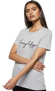 Tommy Hilfiger Damen Heritage Crew Neck Graphic T-Shirt