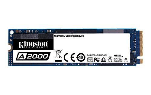 Kingston A2000 M.2 NVMe PCIe SSD, 500GB