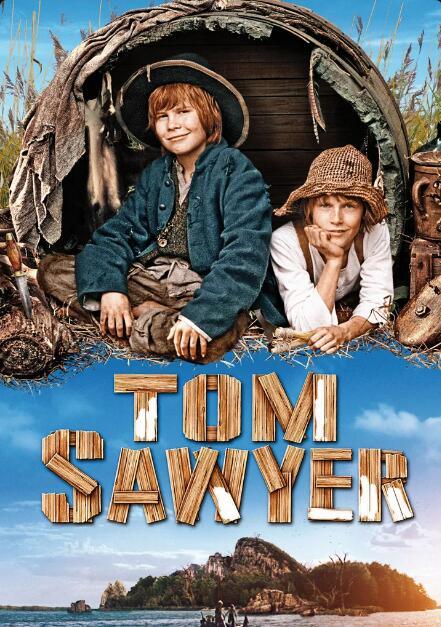 """""""Tom Sawyer"""" (2011) zum Streamen od. Herunterladen aus der Ard Mediathek u. """"Tom Sawyers und Huckleberry Finns Abenteuer"""" (Serie 1968) 3Sat"""