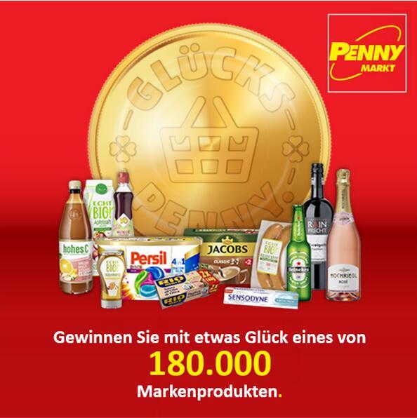 GLÜCKS-PENNY mit täglicher Gewinn-Chance ist wieder da!