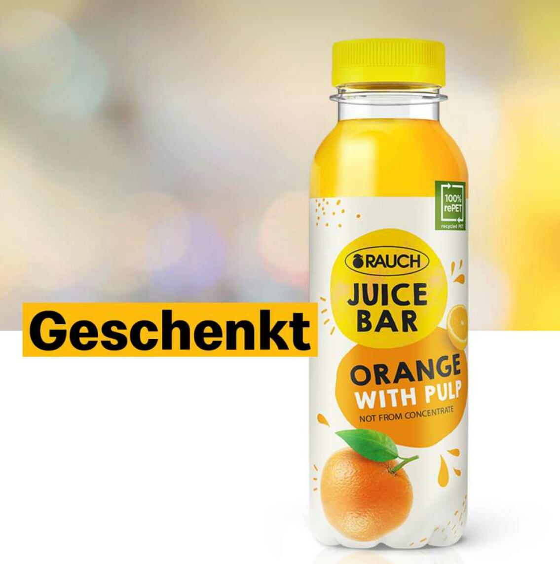 [McDonalds] GRATIS Rauch Orangensaft 0,33l