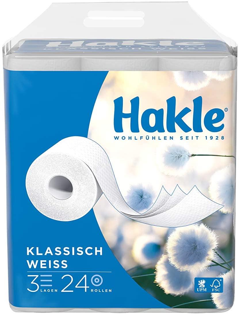(Kacken im Lockdown) - 96x Hakle 3-lagiges Klopapier
