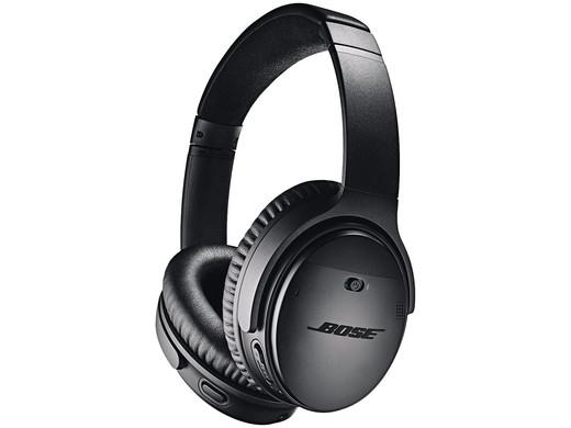 Bose QuietComfort 35 II Bluetooth Kopfhörer in Schwarz oder Silber