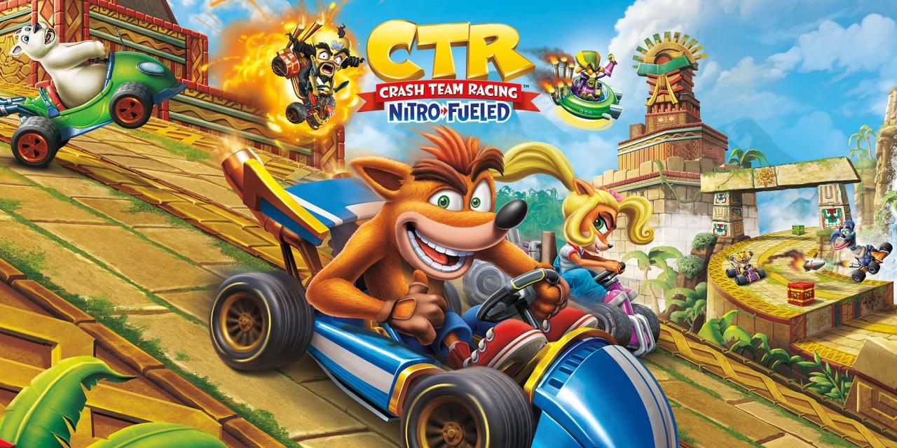 Crash Team Racing Nitro-Fueled für Nintendo Switch - Free to play für eine Woche