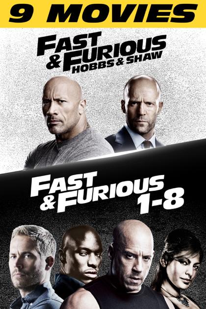 [iTunes] Alle 9 Fast & Furious Filme 4K HDR/DV