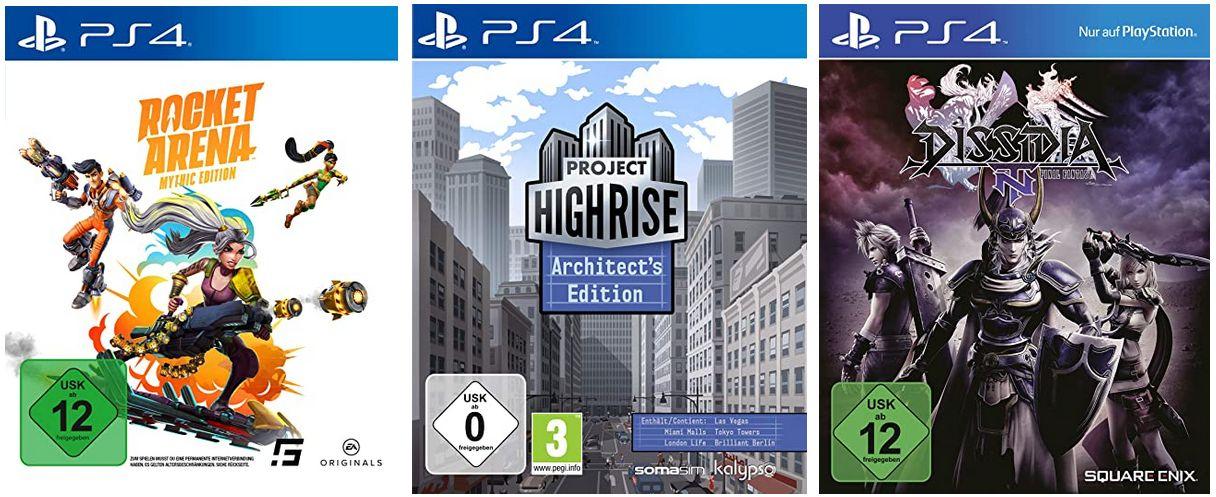 Playstation 4 - 3 x Schnäppchen Games