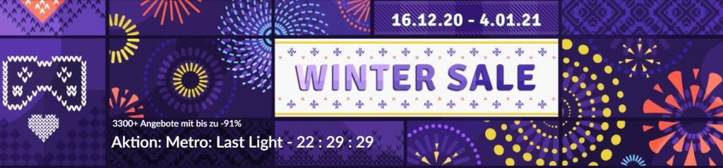 Winter Sale bei GOG.com - bis zu -91%