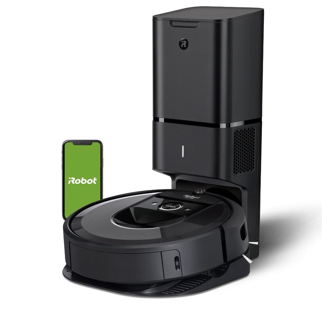[Mediamarkt.at] *Bestpreis* IROBOT Saugroboter Roomba I7+ (I7558) inkl. CleanBase Ladestation