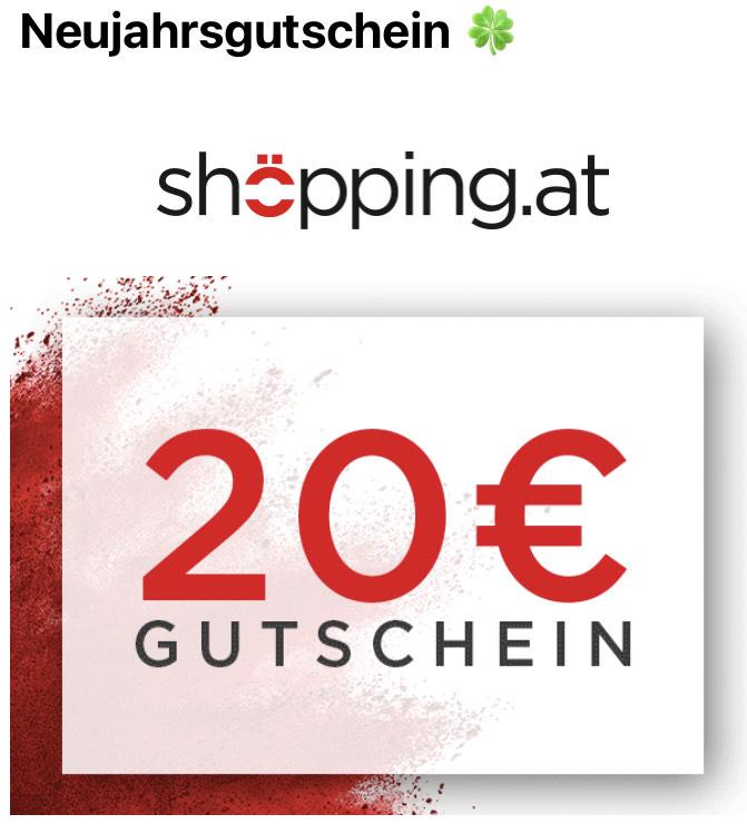20 € Newsletter Gutschein bei Shöpping