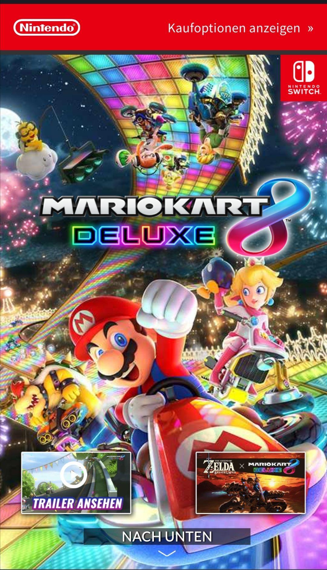 Mario Kart 8 Deluxe (Nintendo Eshop Download)
