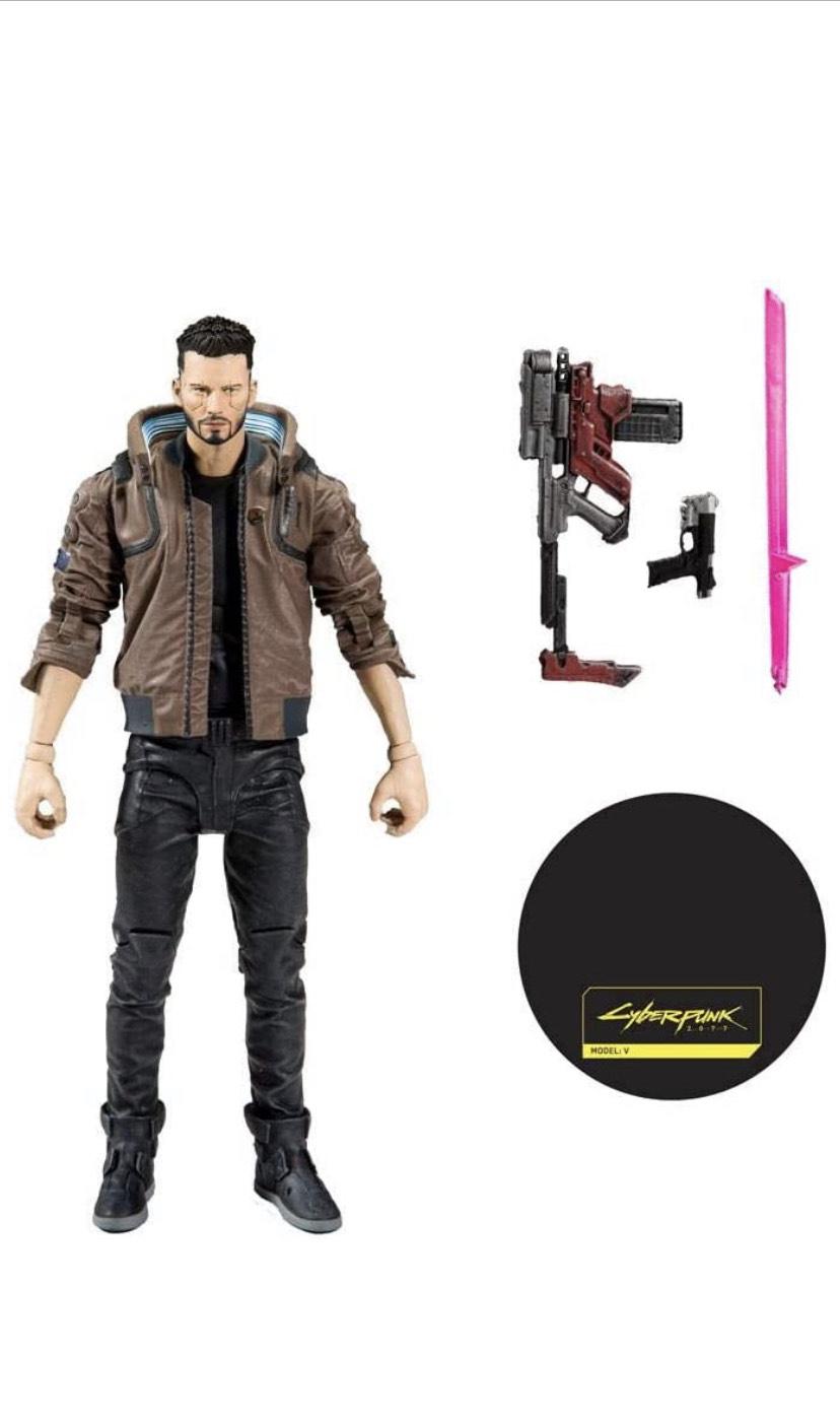 McFarlane Cyberpunk 2077 Actionfigur Male V 18 cm