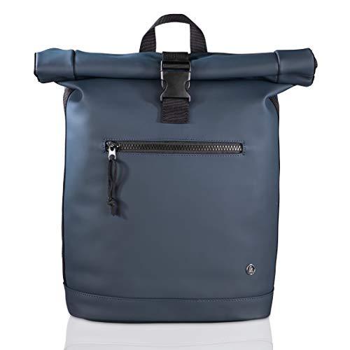 (Schnell) Hama Laptop Rucksack für Damen & Herren - Rolltop Rucksack mit Notebook Fach für PC bis 15.6 Zoll und Tablets
