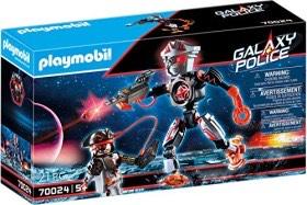 PLAYMOBIL Galaxy Police 70024 Pirates-Roboter mit Lichteffekt