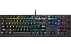 Corsair K60 RGB PRO LOW PROFILE Mechanische Gaming-Tastatur (CHERRY MX Low Profile SPEED Tastenschalter