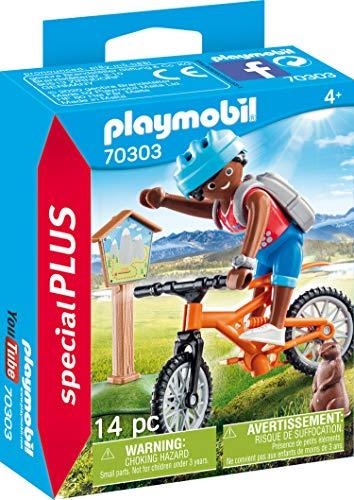 PLAYMOBIL Special Plus 70303 Mountainbiker auf Bergtour