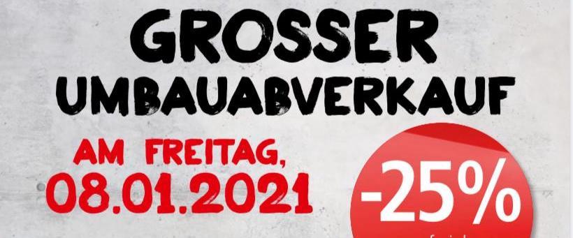 (Lokal) Spar Jedleseerstraße 96 schließt mit 25% Rabatt auf viele Warengruppen