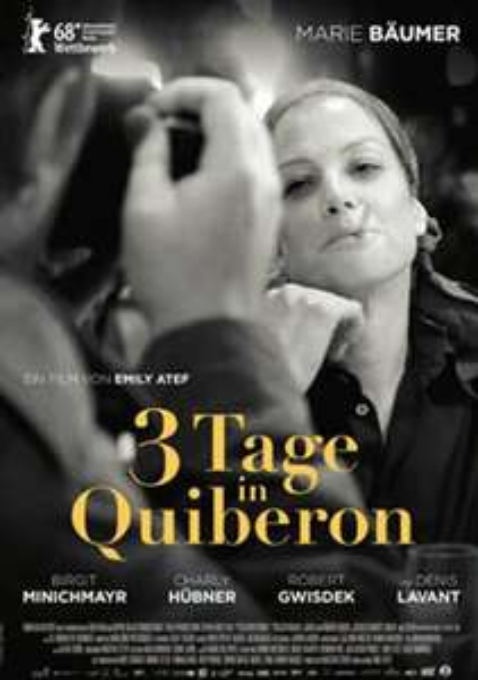 """""""3 Tage in Quibéron"""" (Gewinner des Deutschen Filmpreises) mit Marie Bäumer als Romy Schneider als Stream vom SRF"""