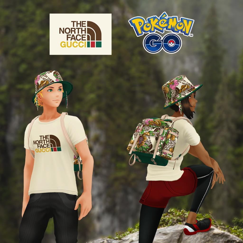 Pokémon Go (Android/iOS) Ist euer Avatar ein Markenschw..n? Gucci Avatar Clothing Code The North Face