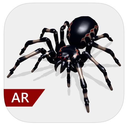 (iOS) AR Spinnen Pro - Freunde erschrecken - GRATIS