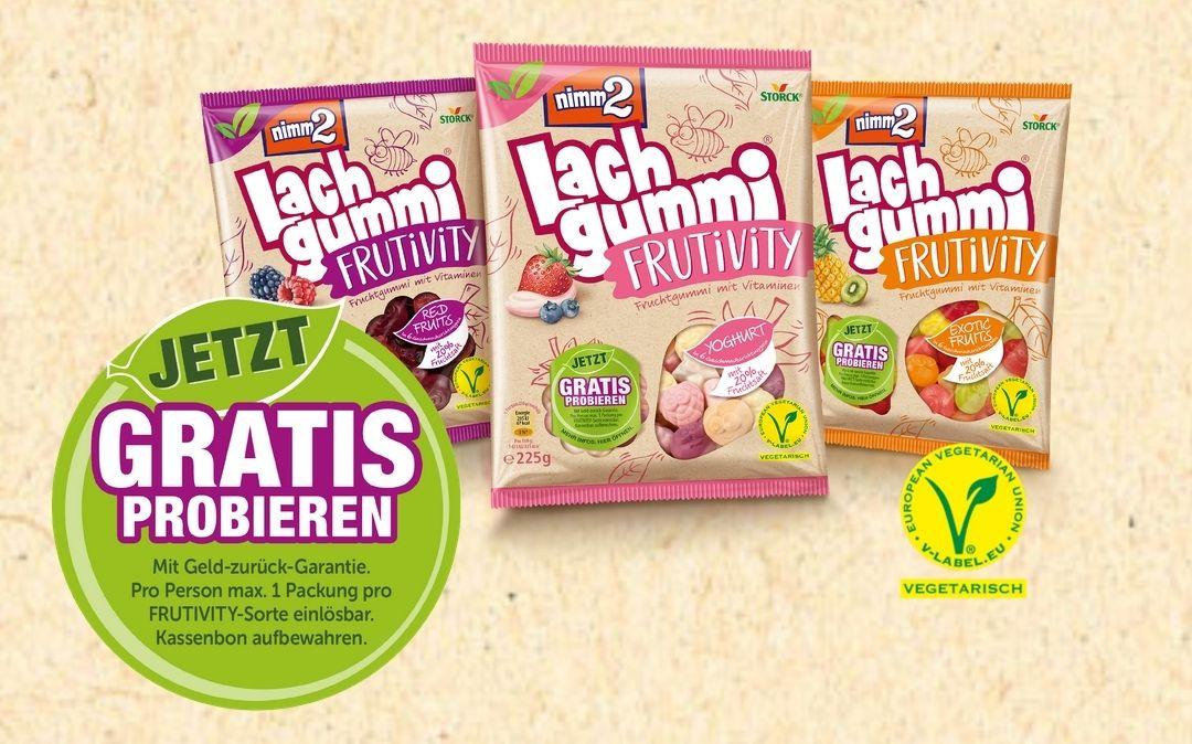 Nimm2 Lachgummi Frutivity gratis testen