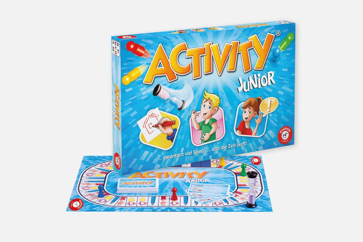 Krone Bonuscard/ohne - Piatnik Activity Junior 7€/9€ oder Activity Kompakt 7€/9€ und Activity Solo & Team 9€/11€