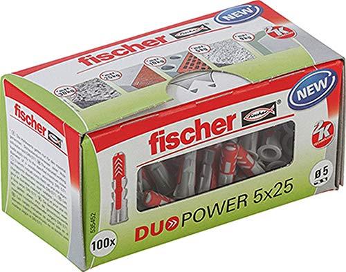 100 Stück Fischer Duopower Dübel 5x25