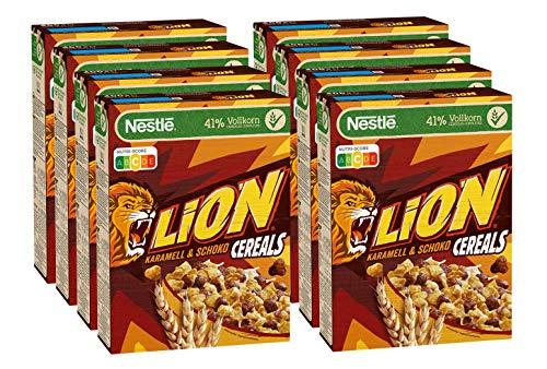 8x 400g Lion Cereals