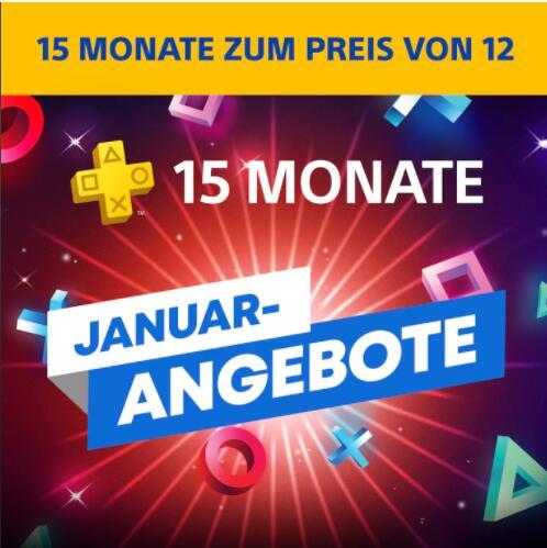 PlayStation Plus-Mitgliedschaft: 15 Monate zum Preis von 12 €59.99 @playstation.com