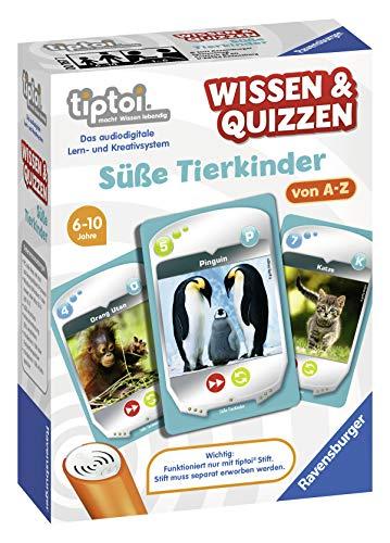 Ravensburger tiptoi 00767 Wissen und Quizzen: Süße Tierkinder