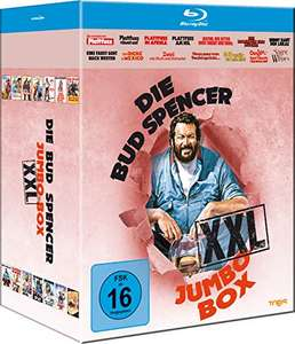 Die Bud Spencer Jumbo Box XXL - 14 BRs