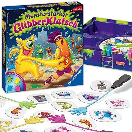 (AMAZON) Ravensburger Kinderspiel Monsterstarker Glibber-Klatsch, Gesellschafts- und Familienspiel
