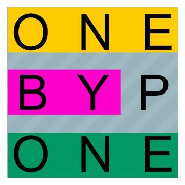 """""""One By One PRO - Multilingual Word Search"""" (Android) gratis im Google PlayStore - ohne Werbung / ohne InApp-Käufe- (EN/DE/FR/ES/IT....)"""