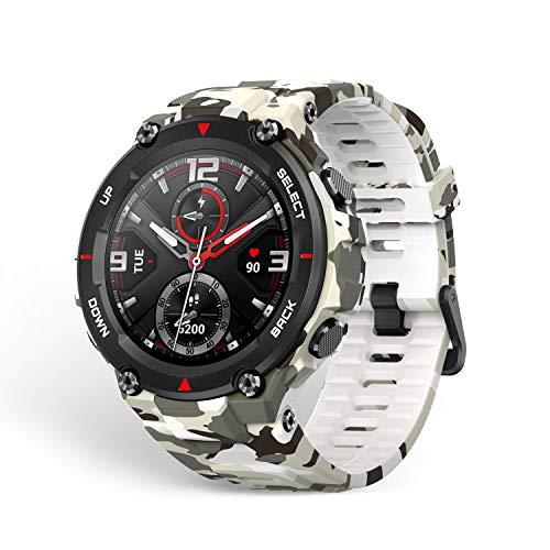 Amazfit T-Rex Smartwatch, Camo Green