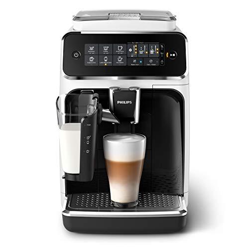 Philips EP3243/50 Automatische Kaffeemaschine Espresso 3200 LatteGo Weiss/lackiert schwarz