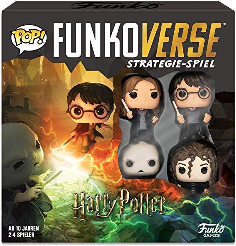 (AMAZON) Funko 43477 Harry Potter 100 Funkoverse (4 Charaktere Pack) Brettspiel, Multi Colour