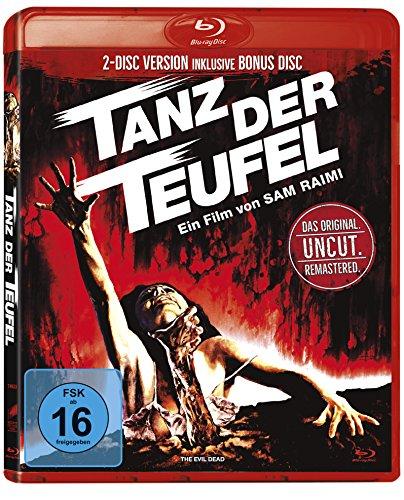 Tanz der Teufel - Uncut (Remastered Version inkl. Bonus Disc 2 Discs in roter Amaray) [Blu-ray] für nur 4,75€ (Amazon Prime)