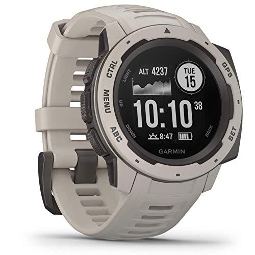 Garmin Instinct Smartwatch, hellgrau