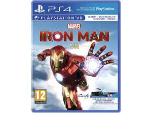"""Marvel's Iron Man VR"" oder ""Arizona Sunshine VR"" (PlayStation 4 / PSVR) zum Bestpreis beim Media Markt"