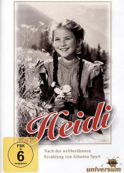 """""""Heidi"""" (1952) mit Theo Lingen, als Stream oder zum Herunterladen aus der 3Sat Mediathek"""