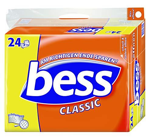 24x Bess Classic Toilettenpapier (3-lagig, je 150 Blatt)