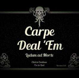 "4 Indie-Spiele: ""Carpe Deal ´Em"", ""Breakfast at Cemetery"", ""The Nothing"" und ""Dead End Road"" (PC) gratis auf itch.io"