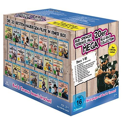 Bud Spencer & Terence Hill - 20er Mega Blu-ray Collection (20 Discs)