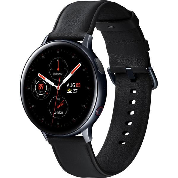 Samsung Galaxy Watch Active 2 - LTE - R825 Edelstahl 44mm schwarz/silber nur 193,80€ (Bestpreis)