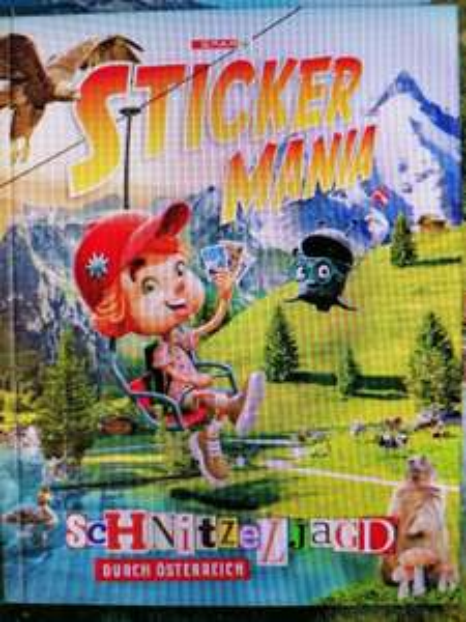 Stickermania Album